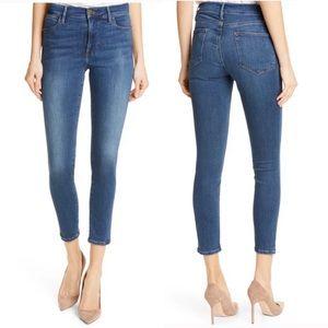 FRAME Denim Le High Skinny Crop Jeans Size 28